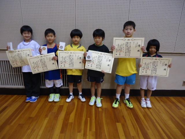 第44回宮崎県少年バドミントン選手権大会(宮日杯)結果