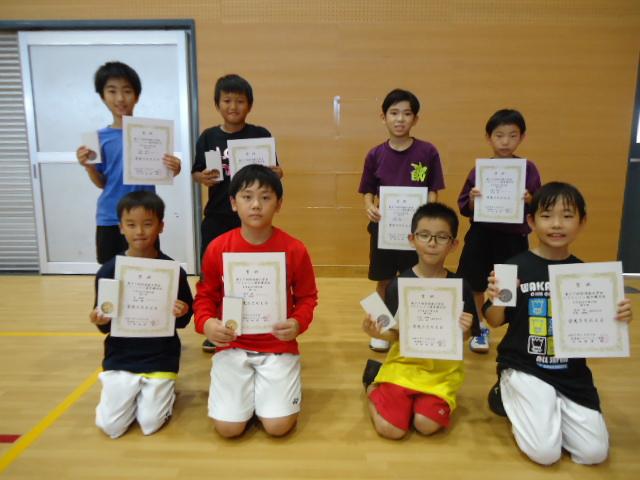 第37回宮崎県小学生バドミントン選手権大会 結果