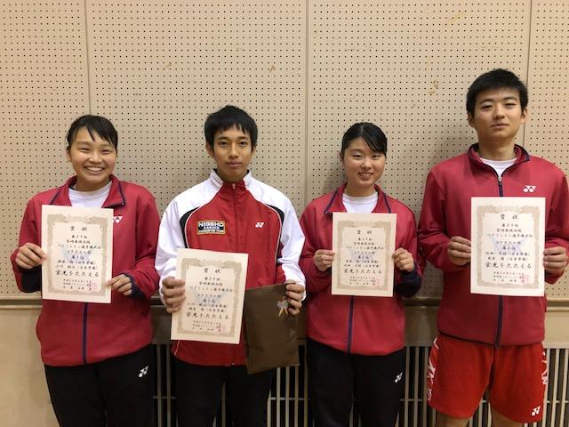 第39回宮崎県混合複バドミントン選手権大会