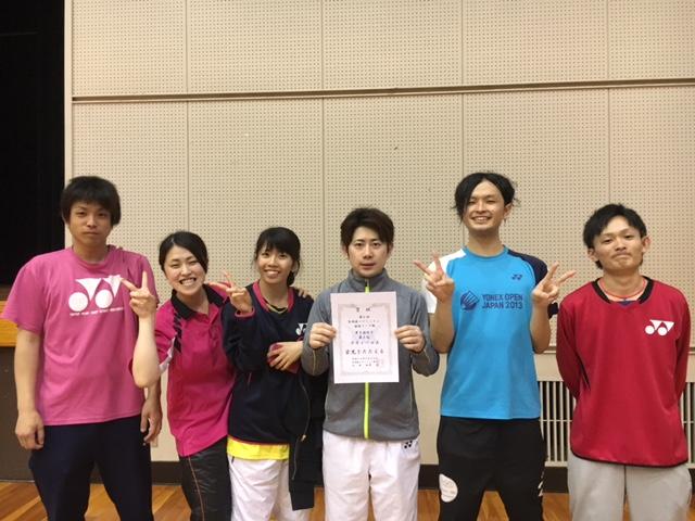 第6回宮崎県バドミントン団体リーグ戦