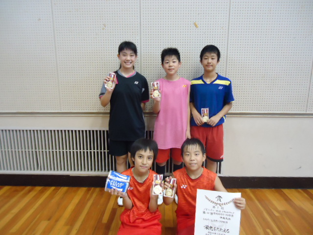 第54回宮崎県スポーツ少年団中央大会結果