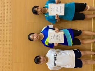 第61回宮崎県総合バドミントン選手権大会シングルス結果