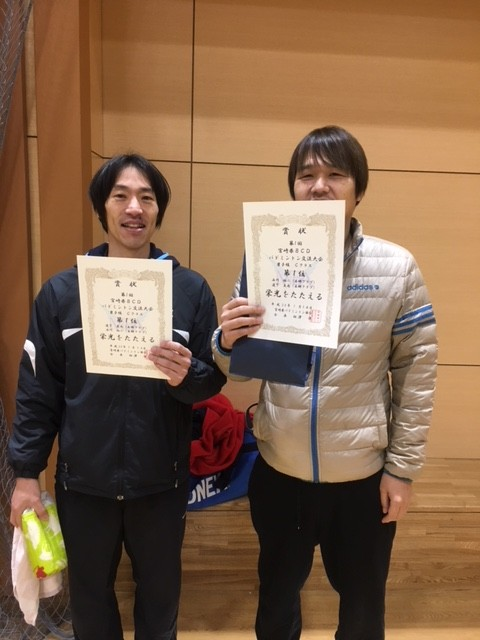 第1回宮崎県BCD交流バドミントン大会