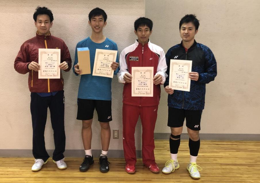 第59回宮崎県総合バドミントン選手権大会シングルス結果